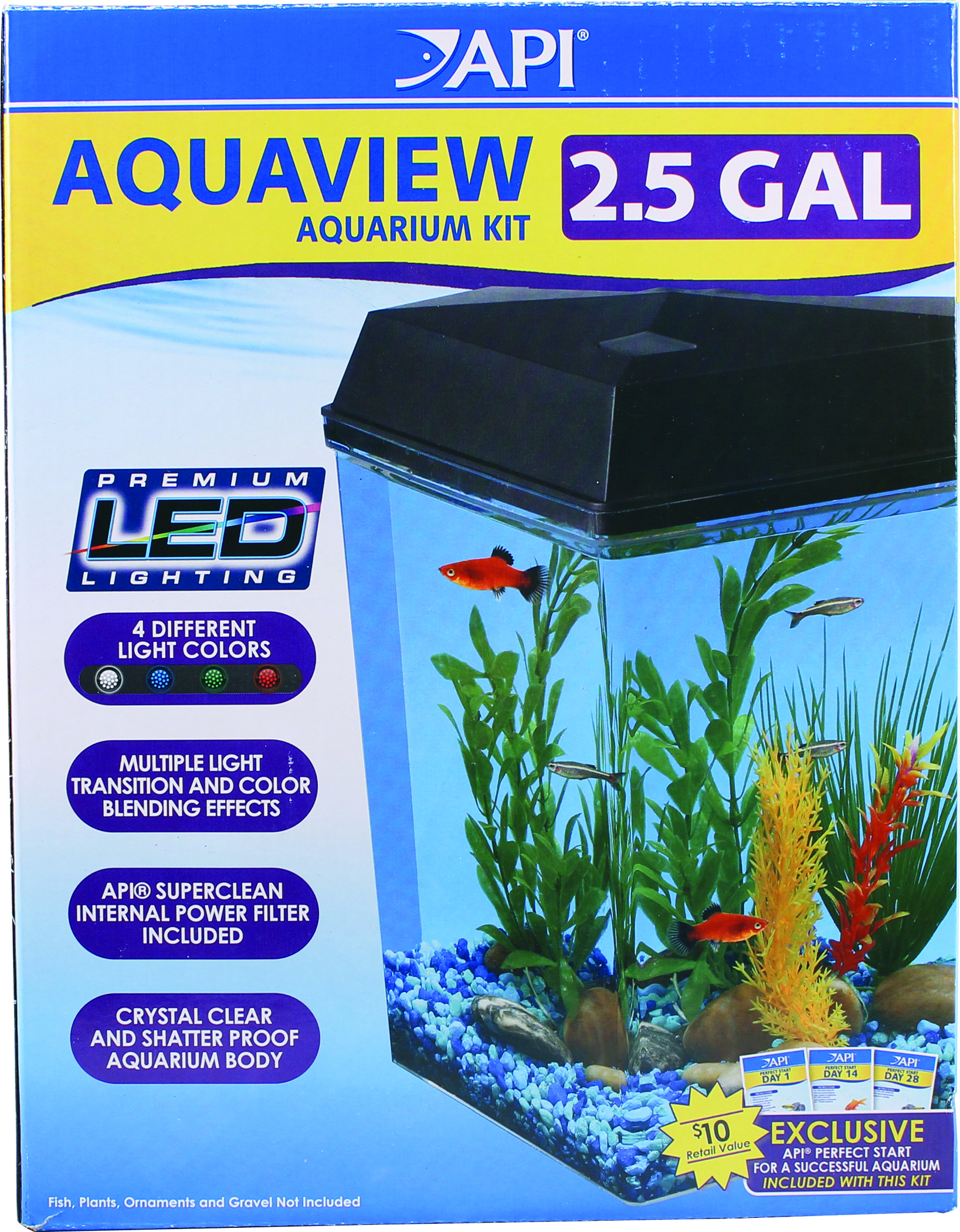 Aquaview Aquarium Kit 2 5 Gallon Dealtrend