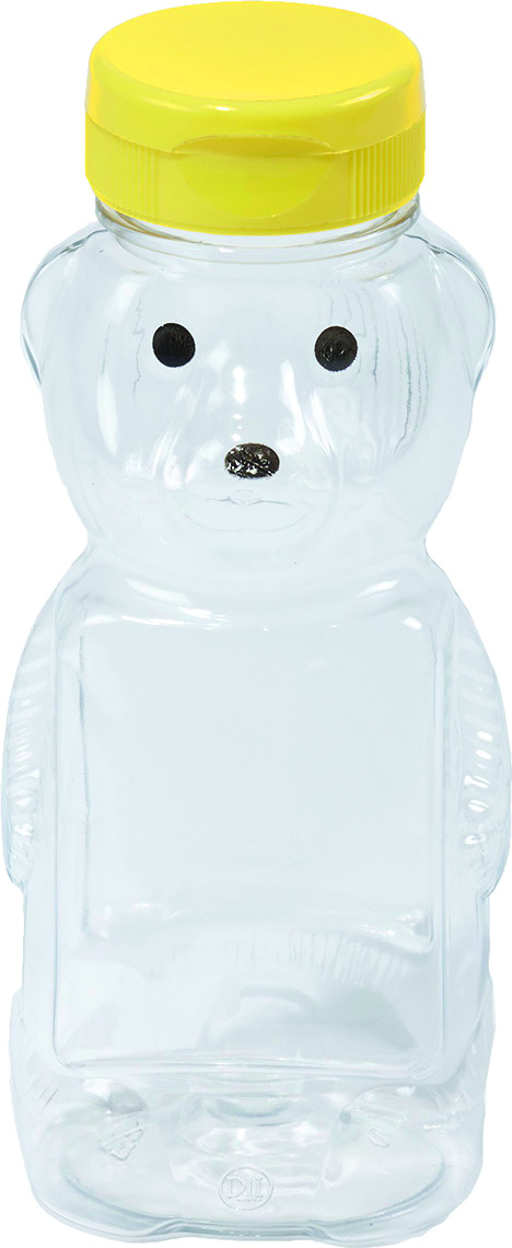 Little Giant Honey Bear Bottle Plastic