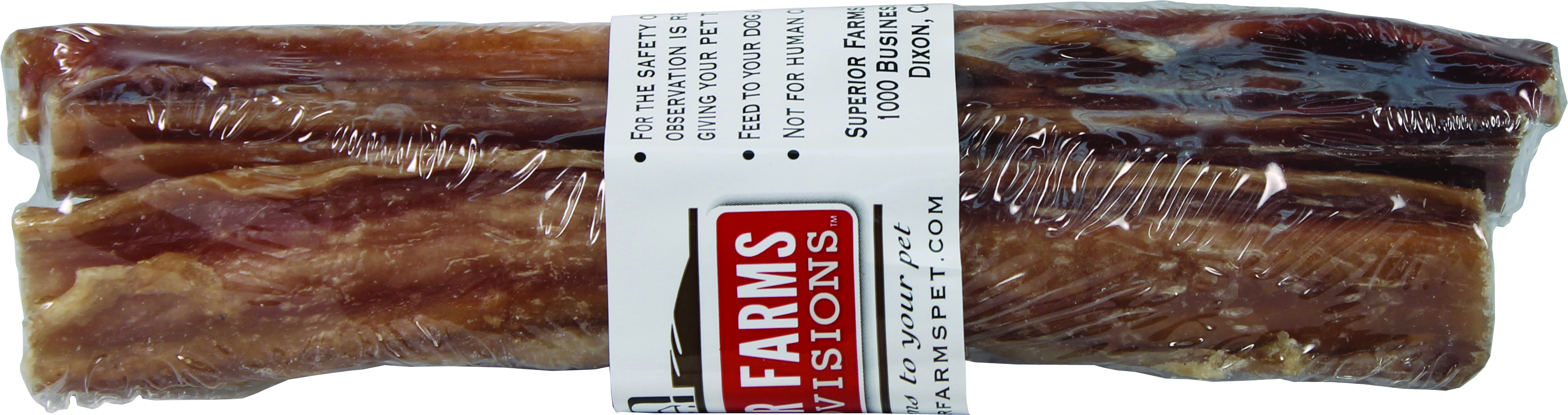 Superior Farms Pet Provisions USA Beef Pizzle Straight Dog Treat