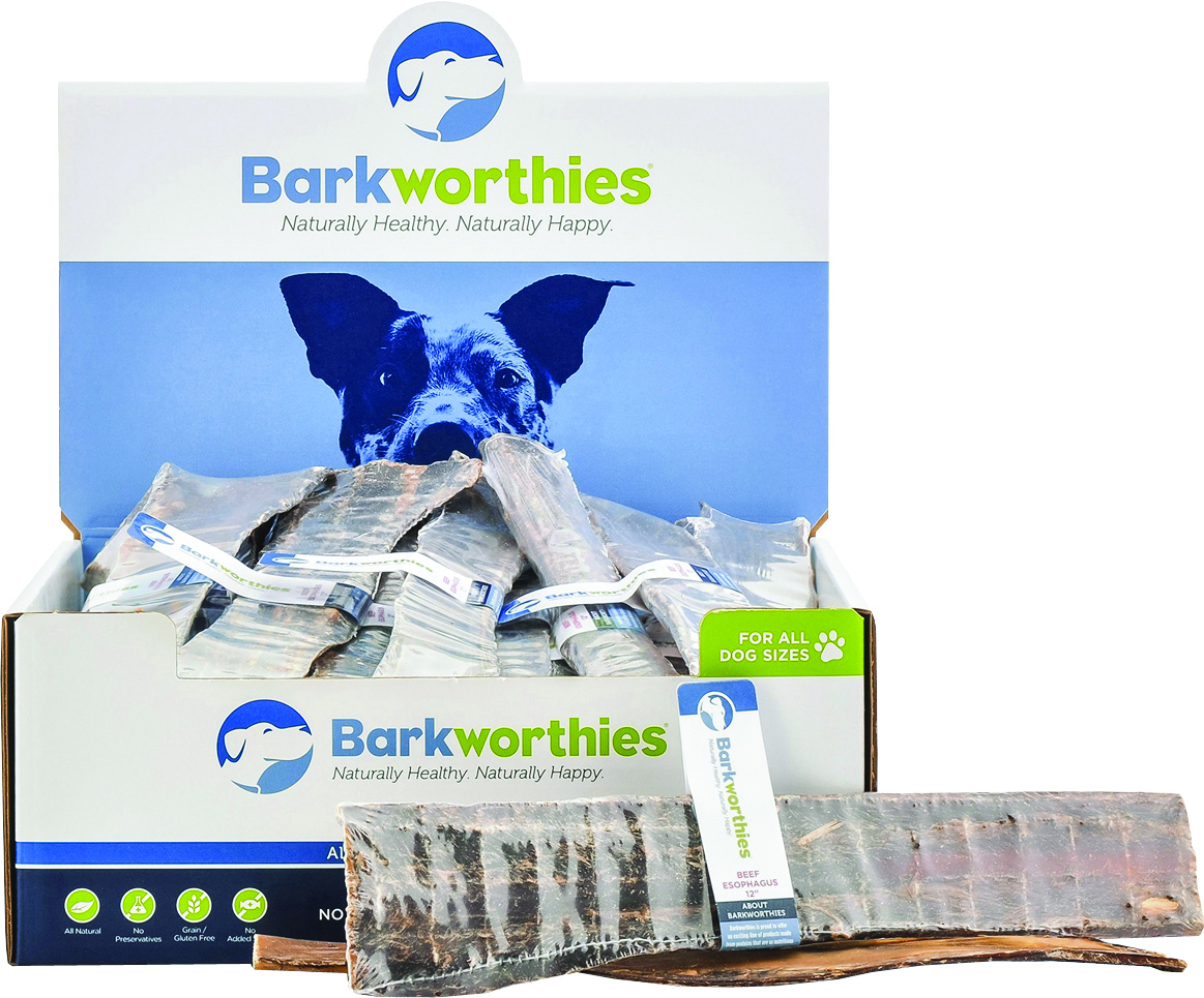 Barkworthies All Natural Beef Esophagus Dog Chew