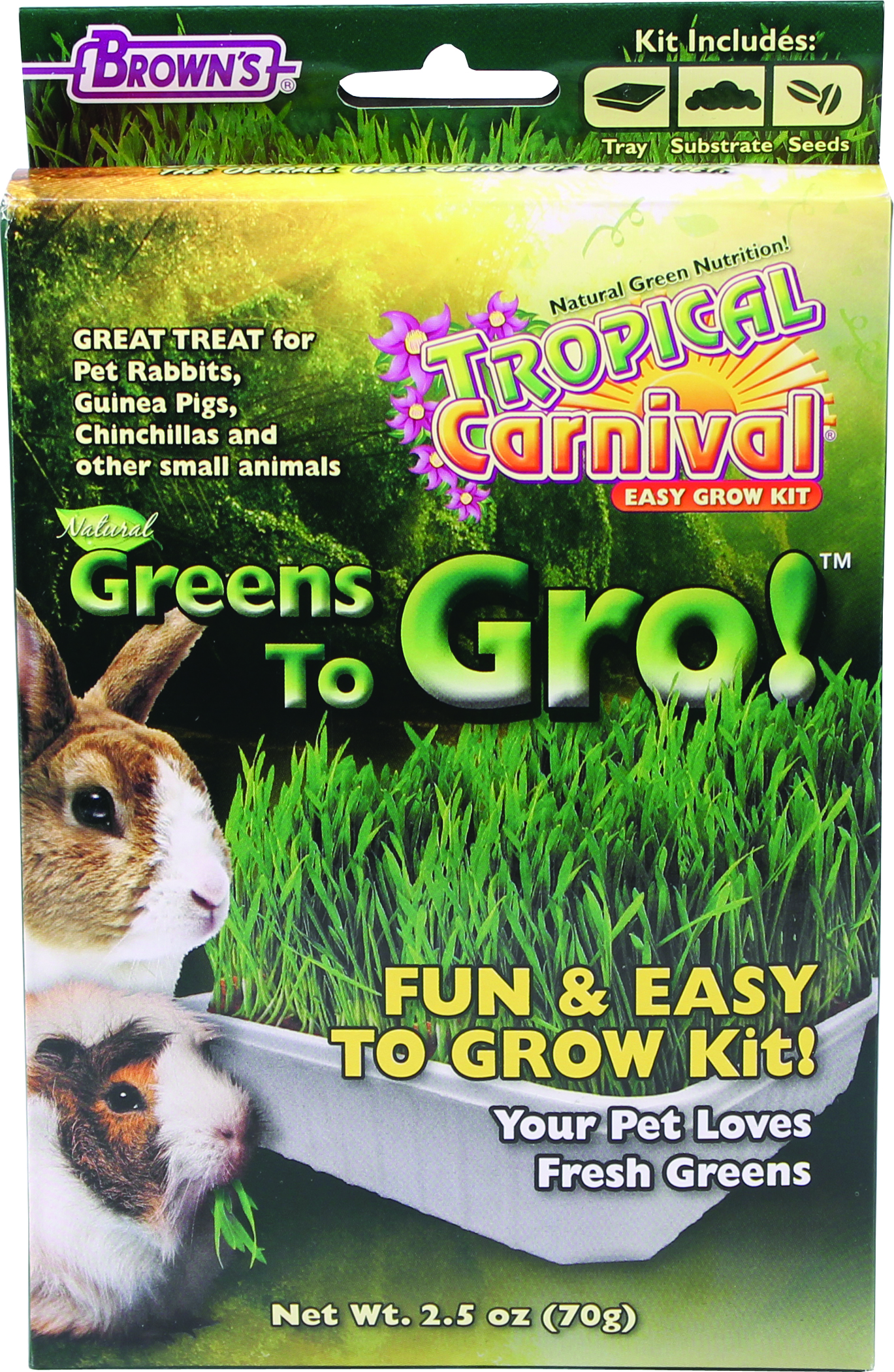 Brown's Tropical Carnival Greens To Gro!