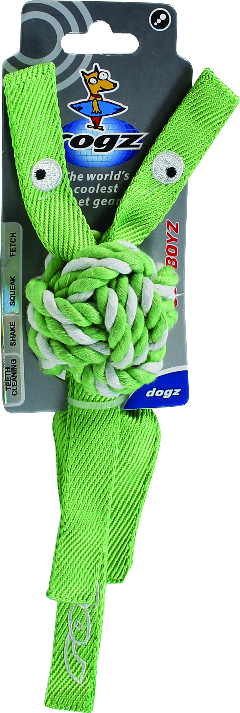 Rogz Cowboyz Knot Dog Toy