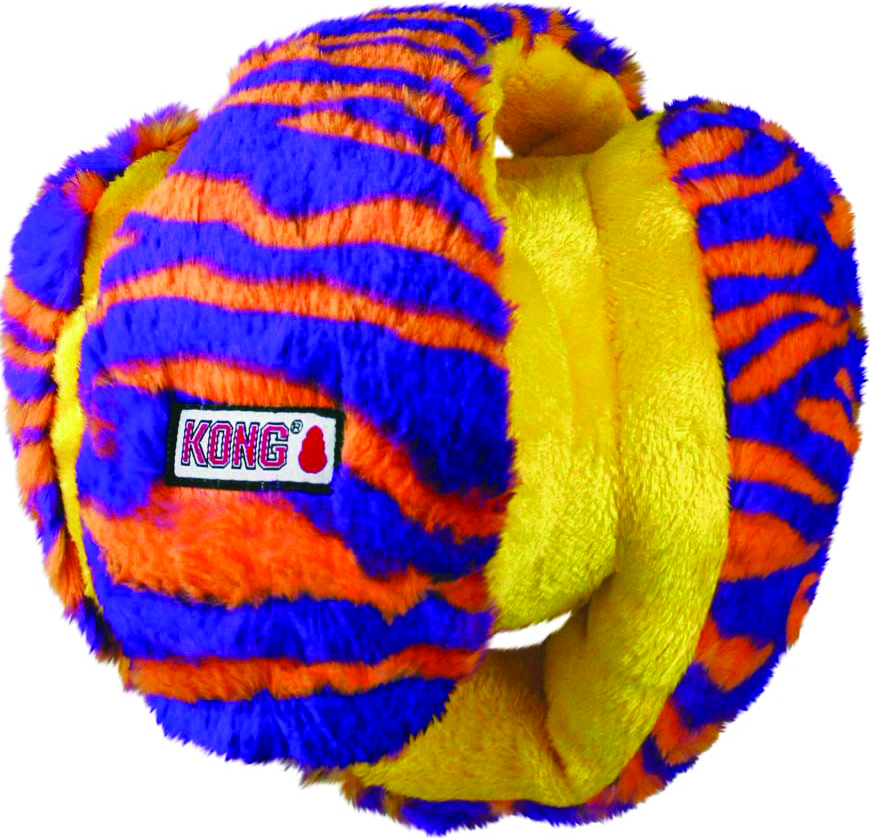KONG Funzler Monkey Print Dog Toy