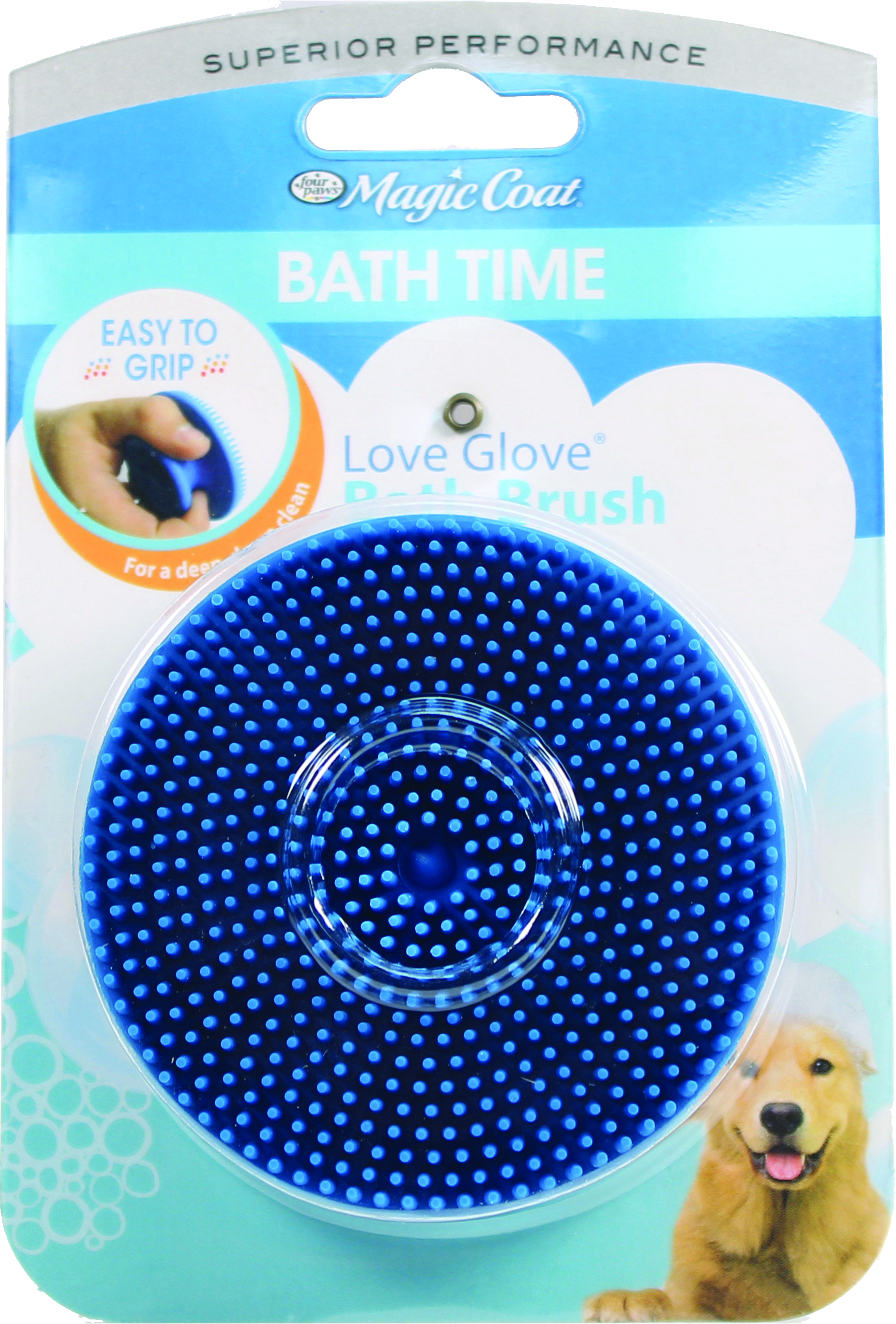 Four Paws Magic Coat Love Glove Bath Brush