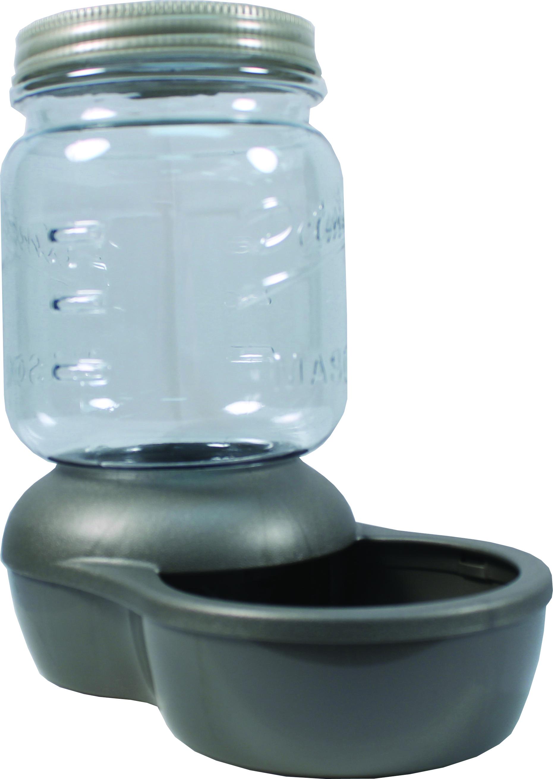 Petmate Mason Jar Replendish Filtered Waterer