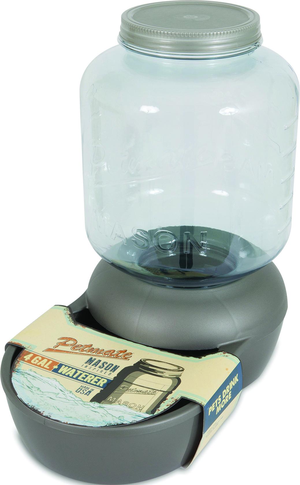 Petmate Mason Jar Replendish Waterer