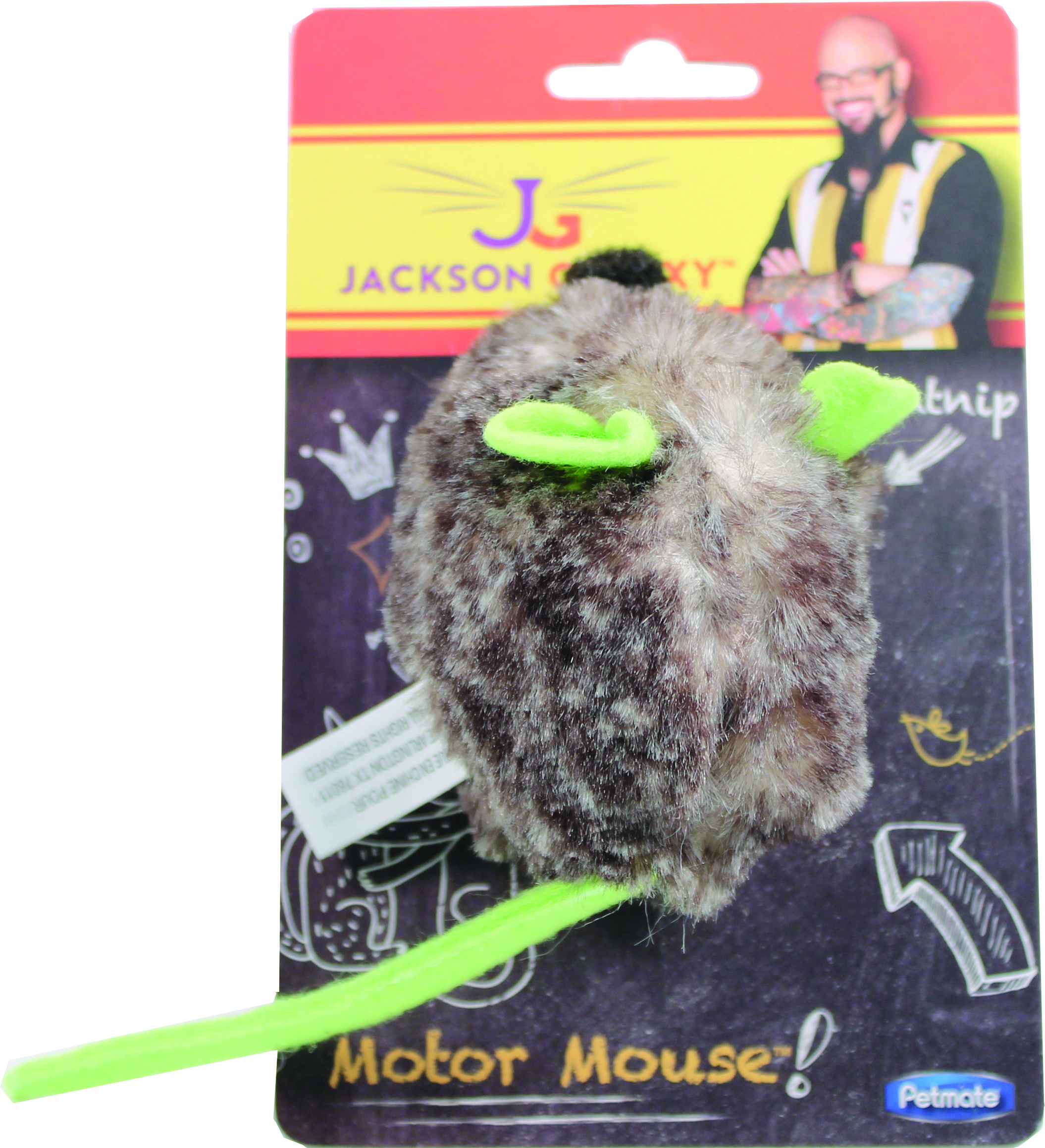 Petmate Jackson Galaxy Motor Mouse With Catnip