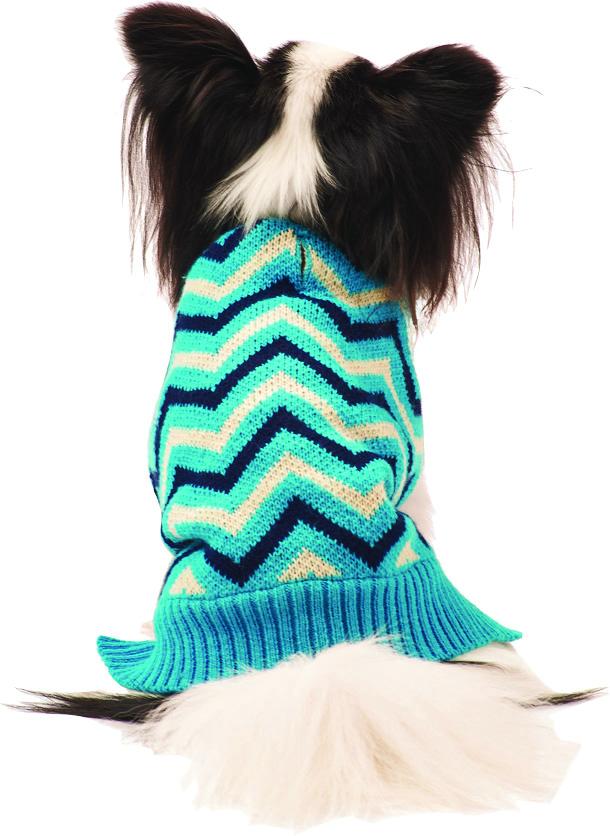 Fashion Pet Chevron Dog Sweater