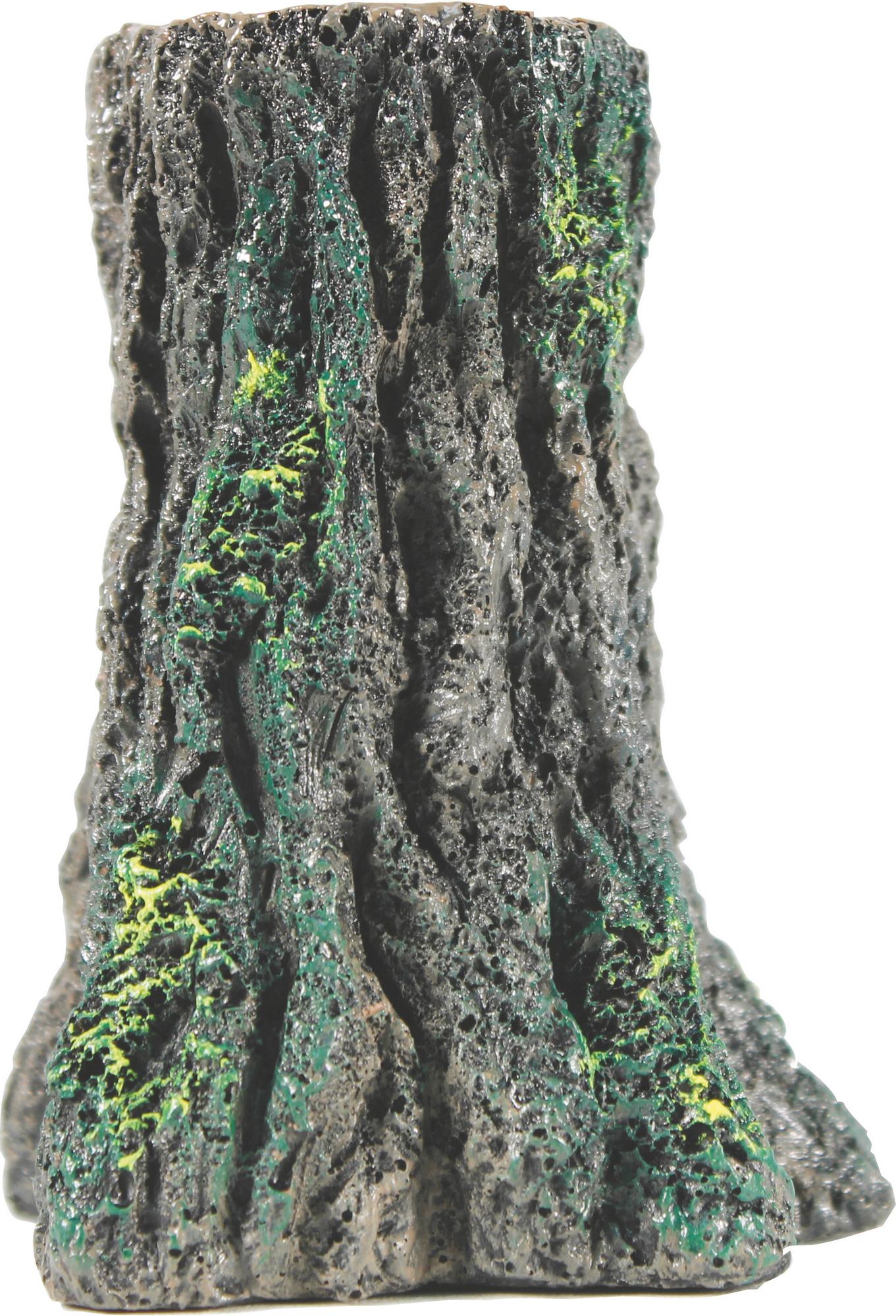 Glofish Tree Stump Aquarium Ornament