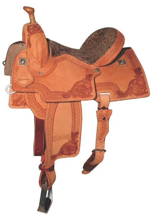 Reinsman 4240 Marlene McRae Special Effx Saddle