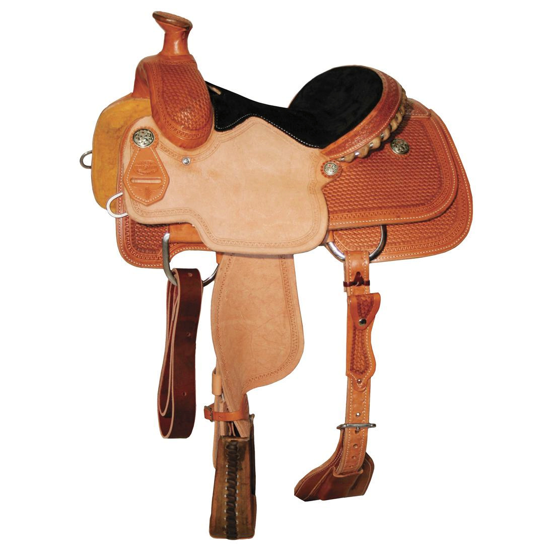 Reinsman 4503 Jr. Roper Saddle-Mini Basket