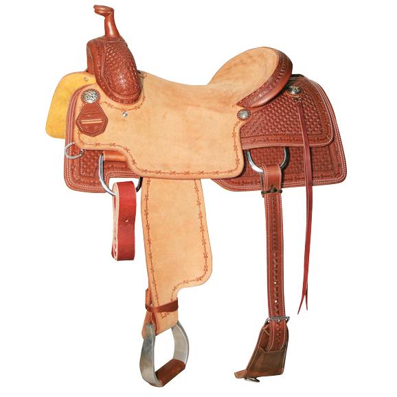Reinsman 4820 Cow Horse Saddle-Waffle