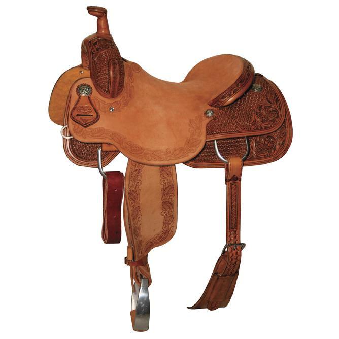 Reinsman 4822 Cow Horse Saddle-Combo Snowflake