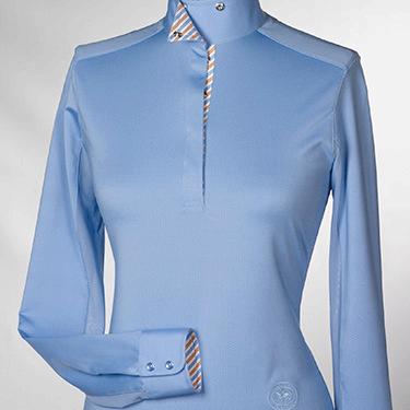 Essex Ladies Azure Talent Yarn Show Shirt