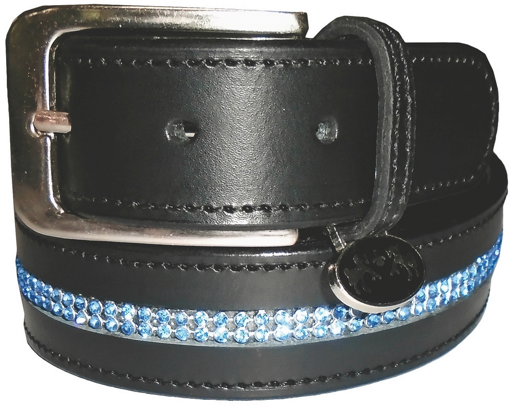 Equine Couture Double Row Ladies' Bling Belt
