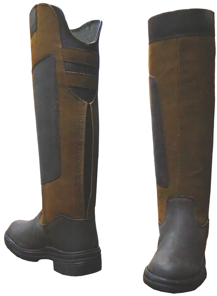 Tuffrider Brandywine Waterproof Tall Boots Ladies - FREE Boot Bag, Socks & FREE SHIPPING