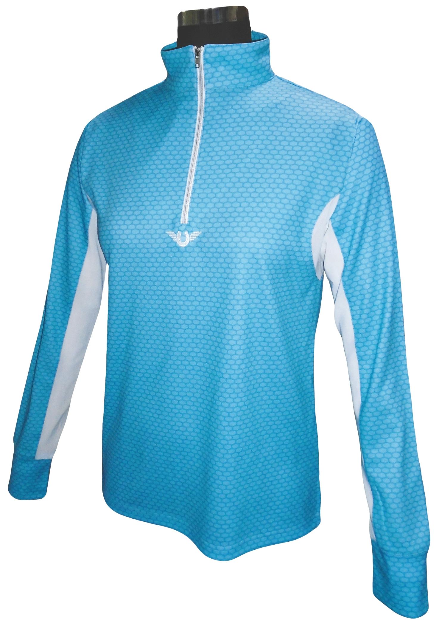 TuffRider Ladies' Neon Block Long Sleeve Technical Shirt