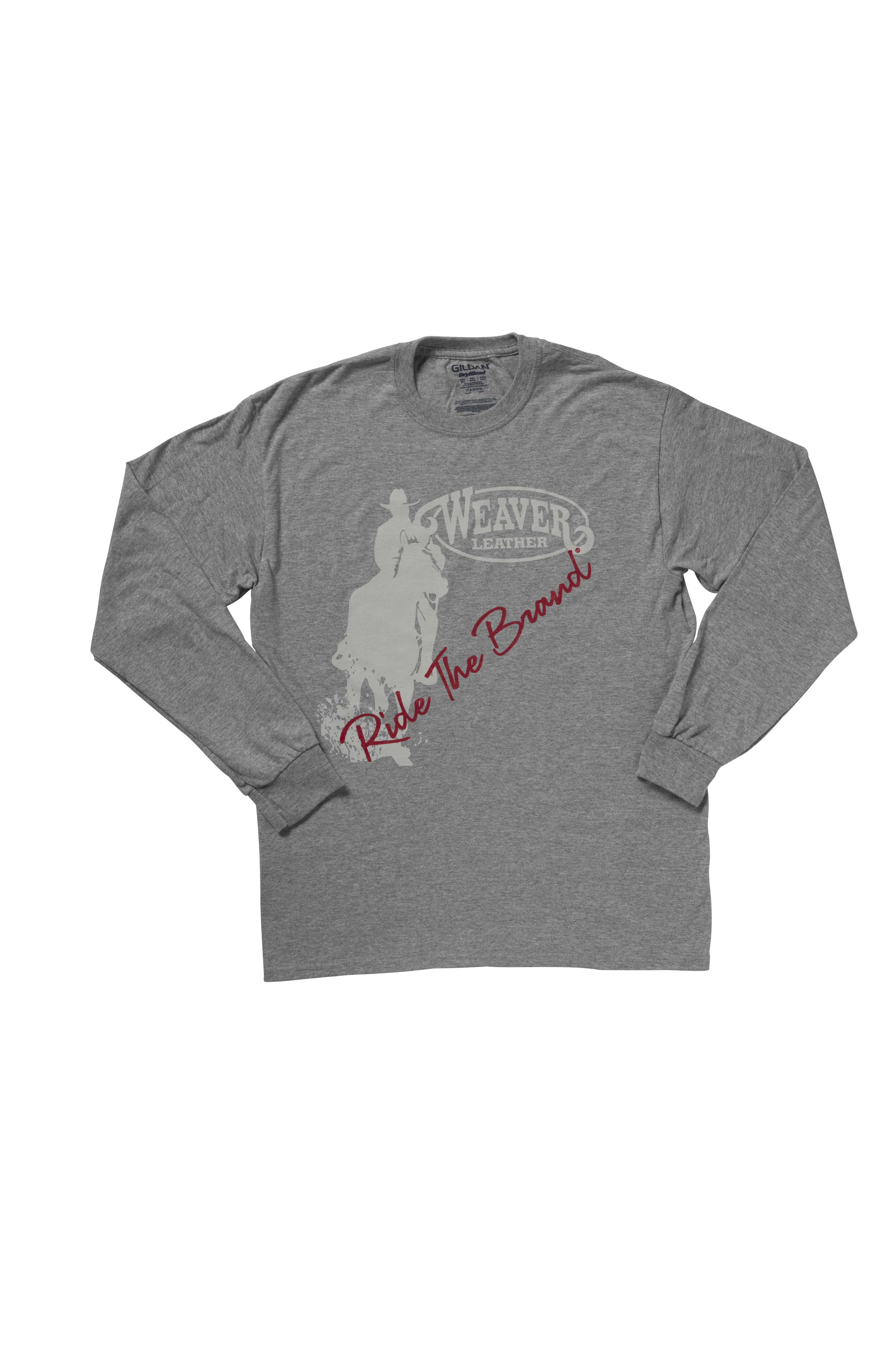Weaver Leather Ride Brand Long Sleeve T-Shirt