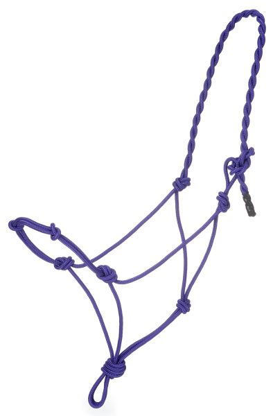 Poly Rope Halter with Knots