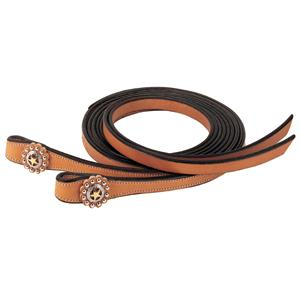Weaver Texas Star Split Reins