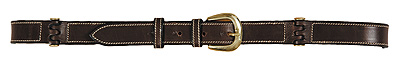 Henri De Rivel Flat Hinged Leather Belt