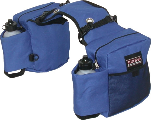 SEDONA Dual Saddle Bags with Water Bottles