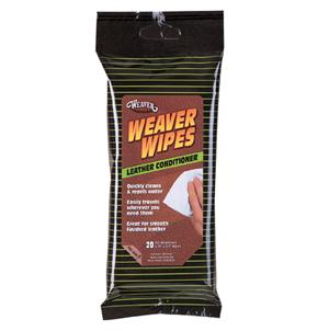 Weaver Weaver Wipes Leather Conditioner Soft Pack