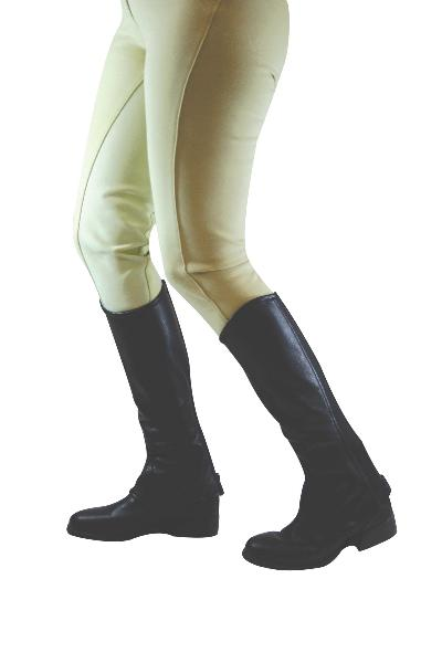 Dublin Flexi Leather Half Chaps