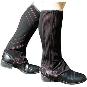 Dublin Easy Care Contrast Stitch Contrast Stitch Childs Half Chaps