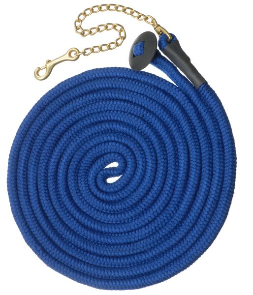 6 Pack Rolled Cotton Lunge Line with Chain Bright Colors