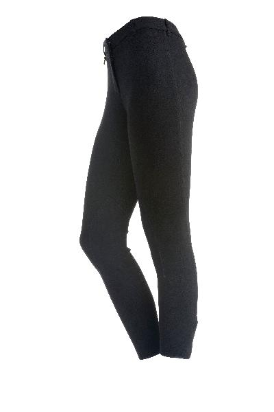 On Course Cotton Natural Front Zip Breech