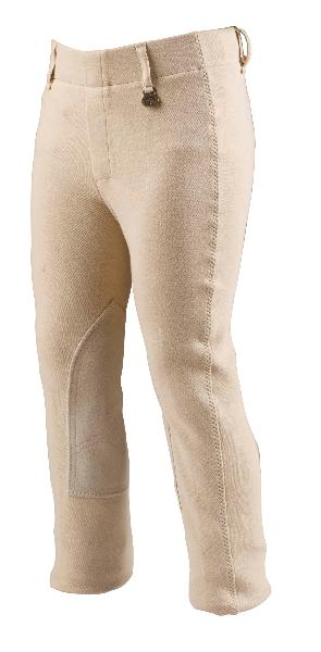 On Course Premier Kids Adjustable Waist Front Zip Breeches