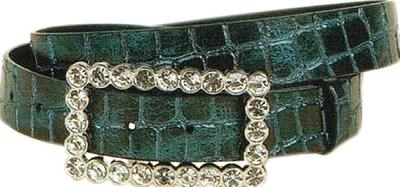 Wellington Collection Metallic Crocodile Belt