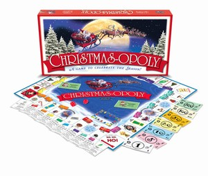CHRISTMAS-OPOLY: A Board Game to Celebrate the Season!