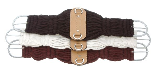 King Series Double Woven Roper Girth