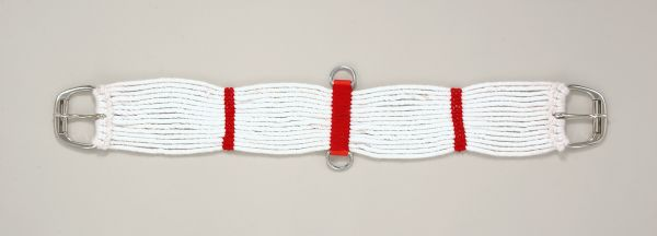6 Pack Woven Cord Girth with Roller Buckle
