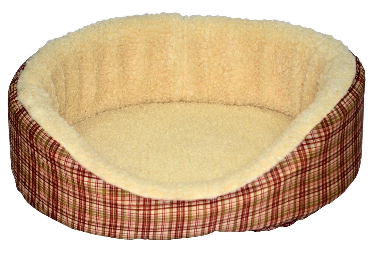 Sleeping Gnome Kitty Nest Sleeper Bed with Fleece Lining