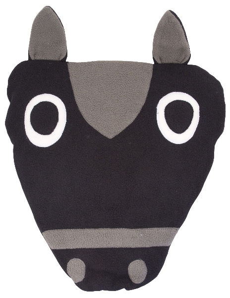 Horse Head Fleece Pillow-N-Blanket