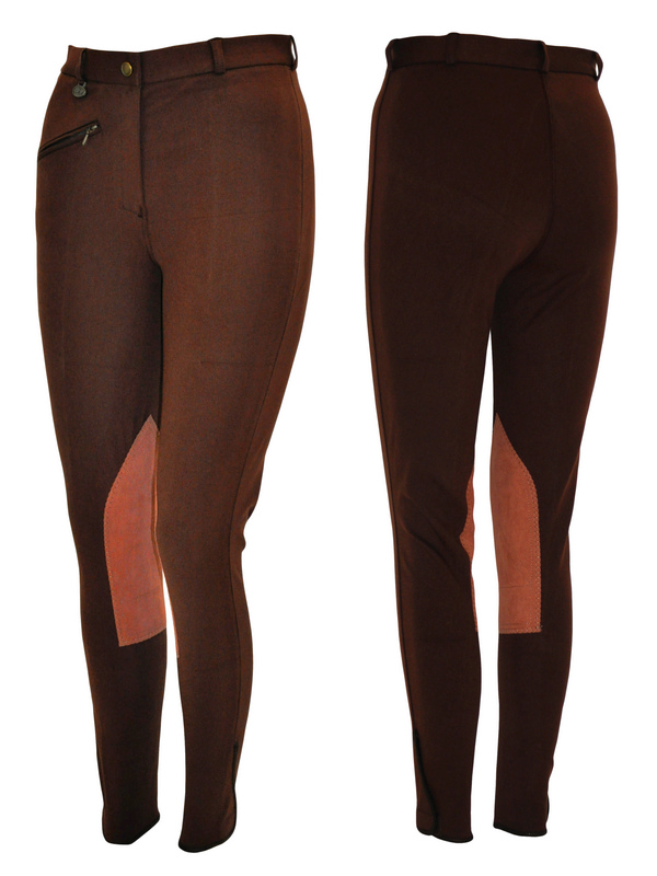 ASHLEY Ladies Classic Knee Patch Breech
