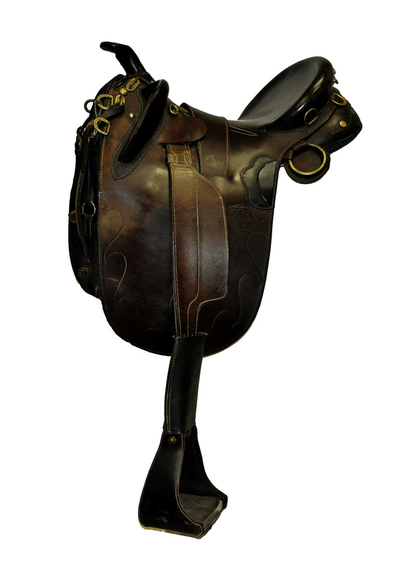 Patrol Poley Australian Stock Saddle Co. Saddle