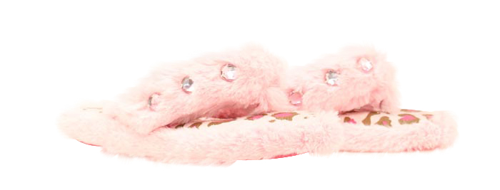 JUSTIN Youth Fuzzy Slipper