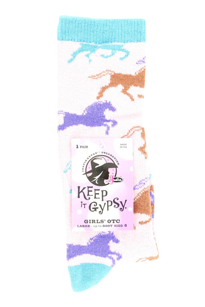JUSTIN Gypsy Youth OTC Socks