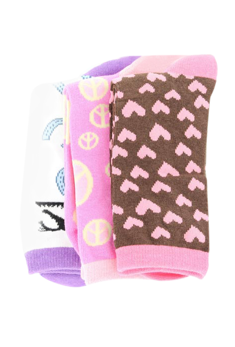 JUSTIN Gypsy Youth Crew Socks - 3pk