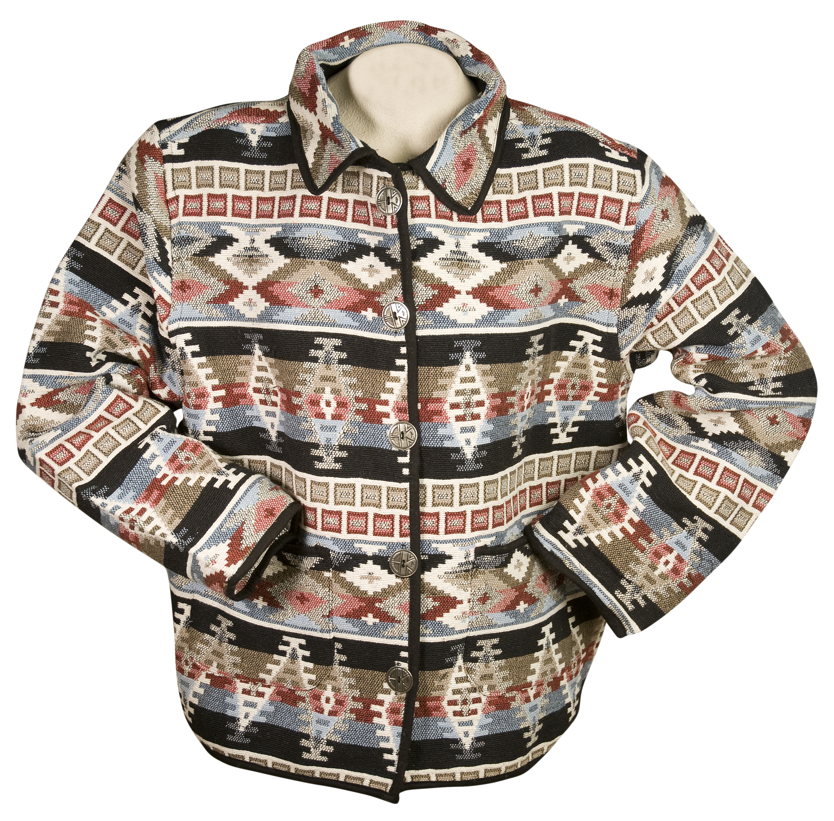 Jane Ashley 100% Cotton Southwest Jacket