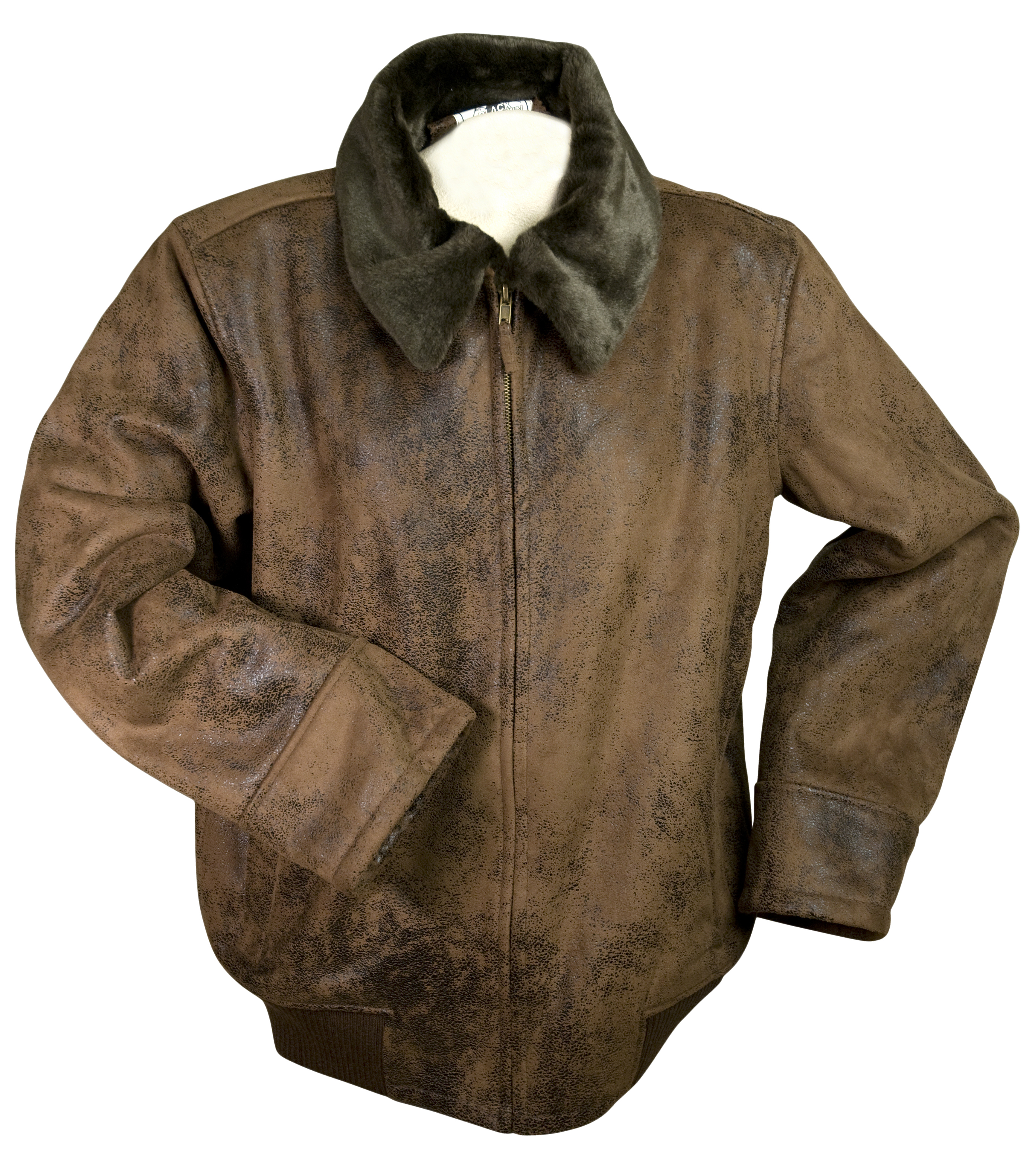 Black Mountain Outdoor Faux Leather Jacket