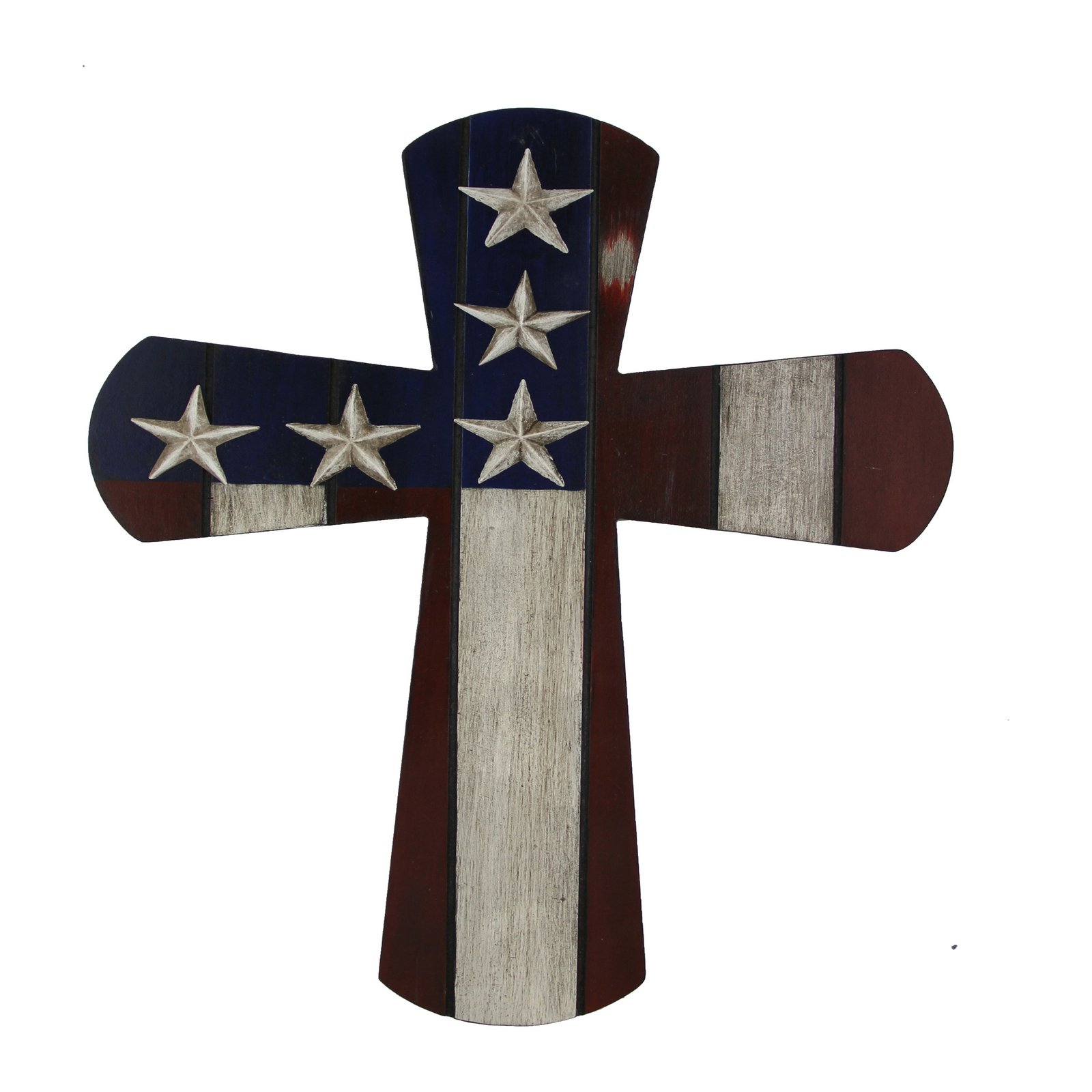 Montana Silversmiths American Flag Cross Wall Art