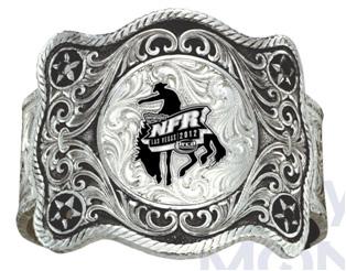 Montana Silversmiths 2012 WNFR Buckle Cuff Bracelet