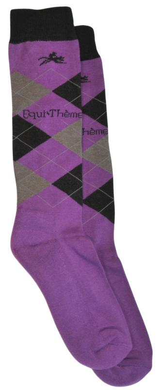 BRAND NAME Equine Argyle Socks
