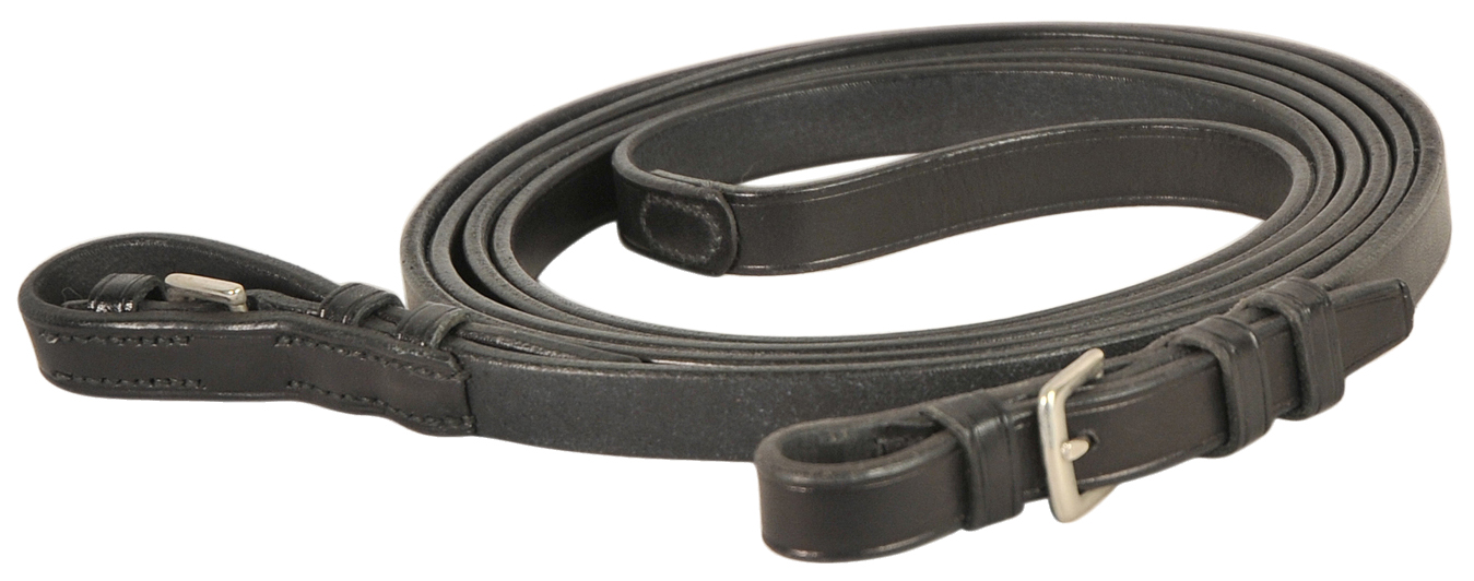 Courbette Plain Leather Reins with Buckles
