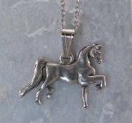 Finishing Touch Large Saddlebred Pendant